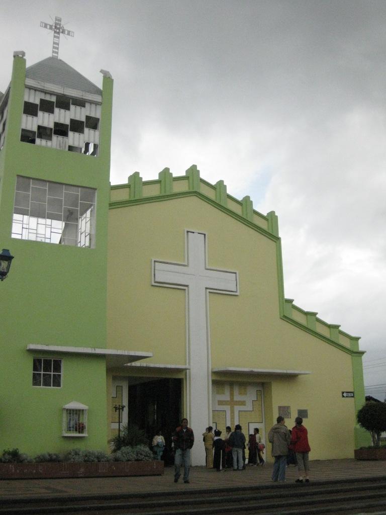 church Otavalo