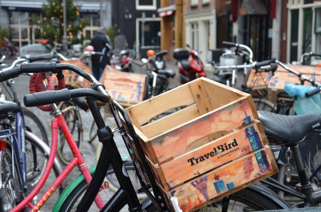 cykelkorg Amsterdam