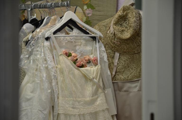 vintage bröllopsklänning Amsterdam