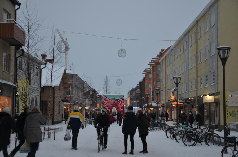 Umeå västra kvarteren invigning kulturhuvudstadsår 2014
