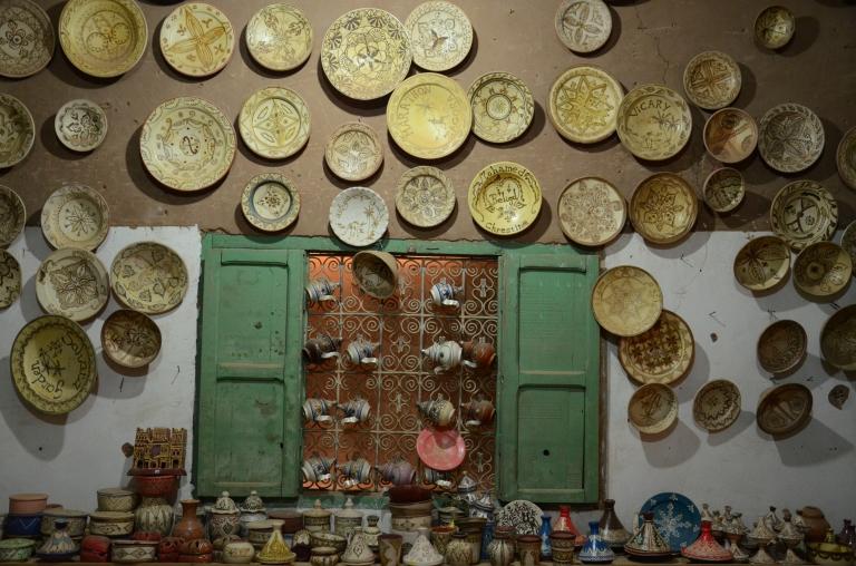 keramik marocko