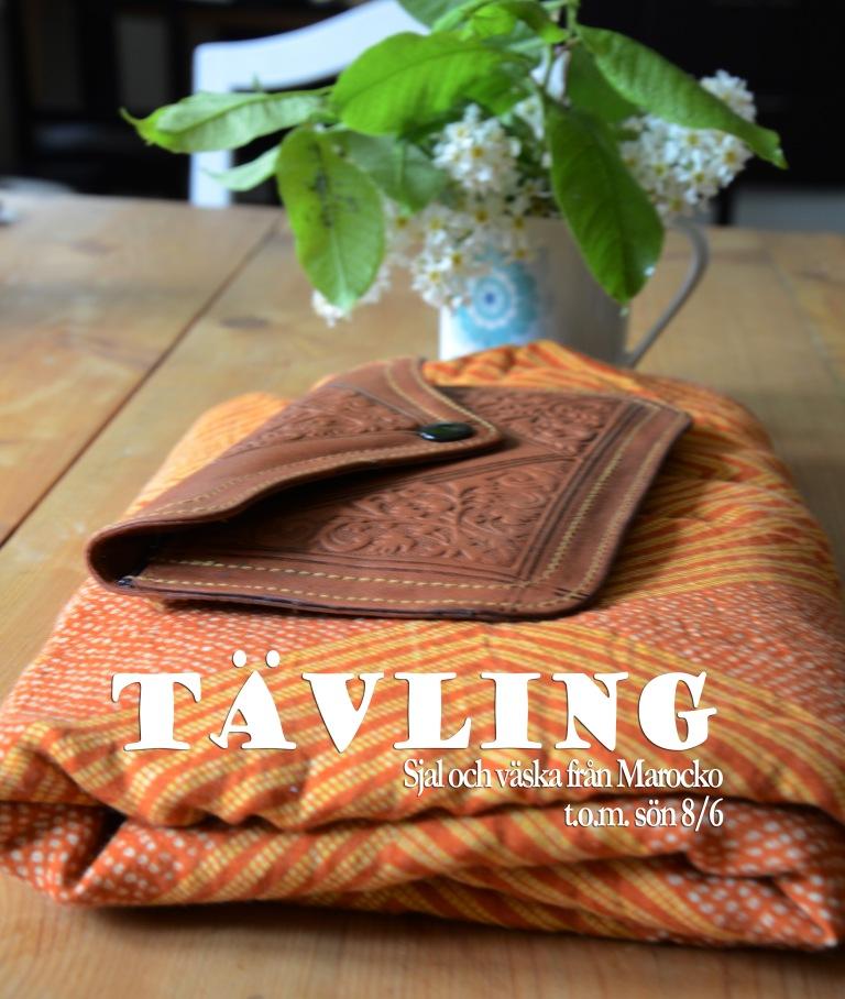bloggtävling väska och sjal