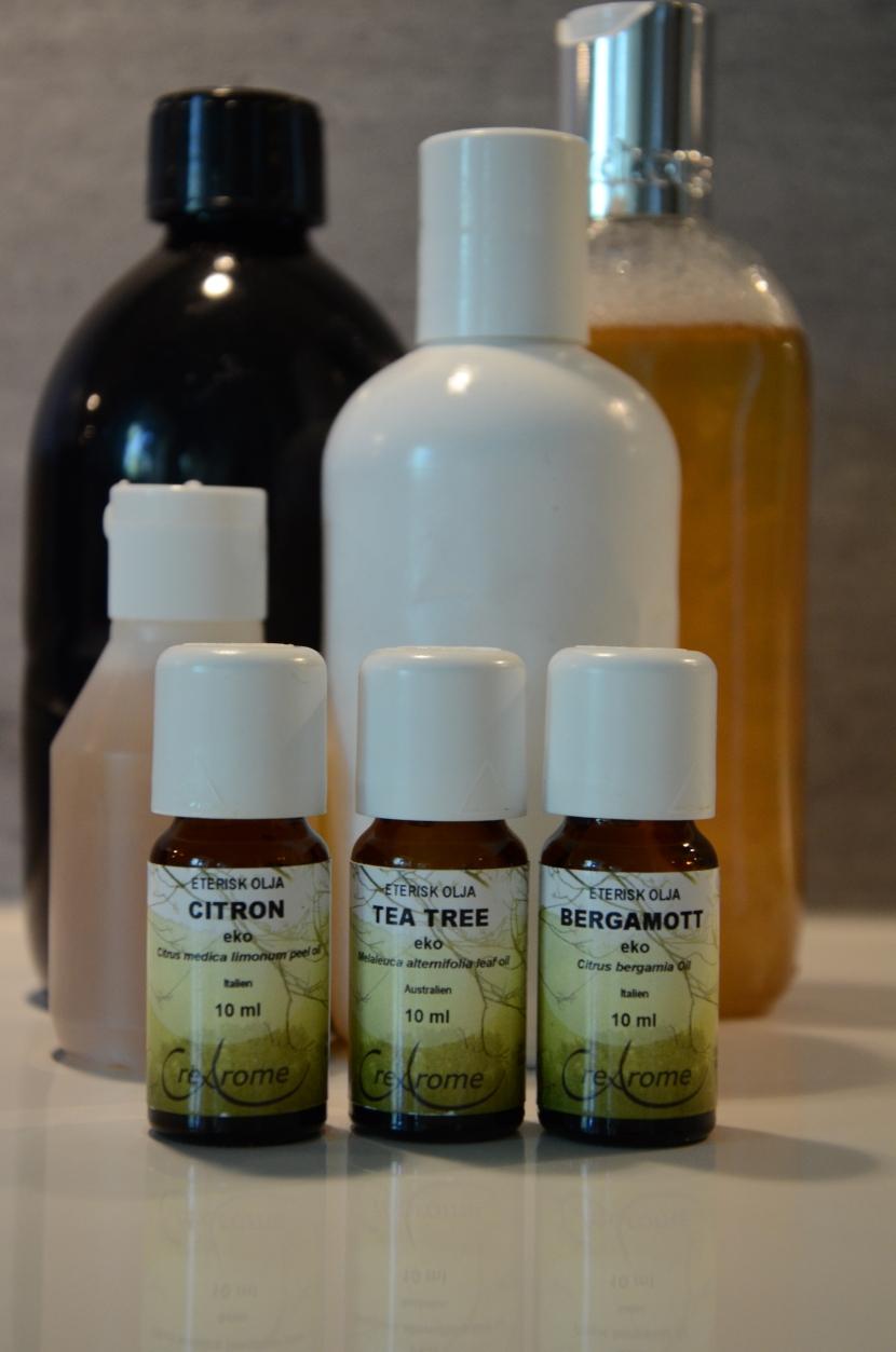 Om att koka eget schampo (receptörtschampo)