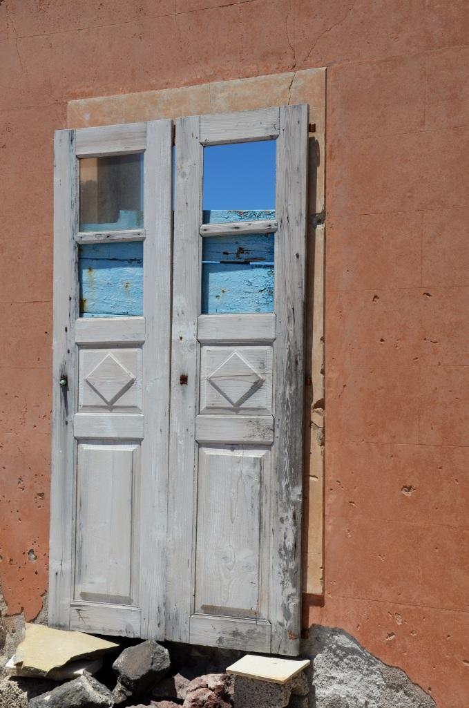 Santorini dörr