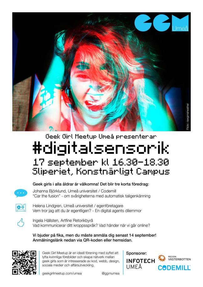 GGM Umeå digital sensorik sliperiet