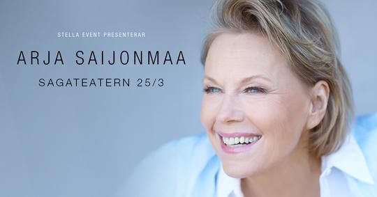 Arja Saijonmaa till Umeå
