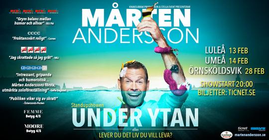 Mårten Andersson till Umeå