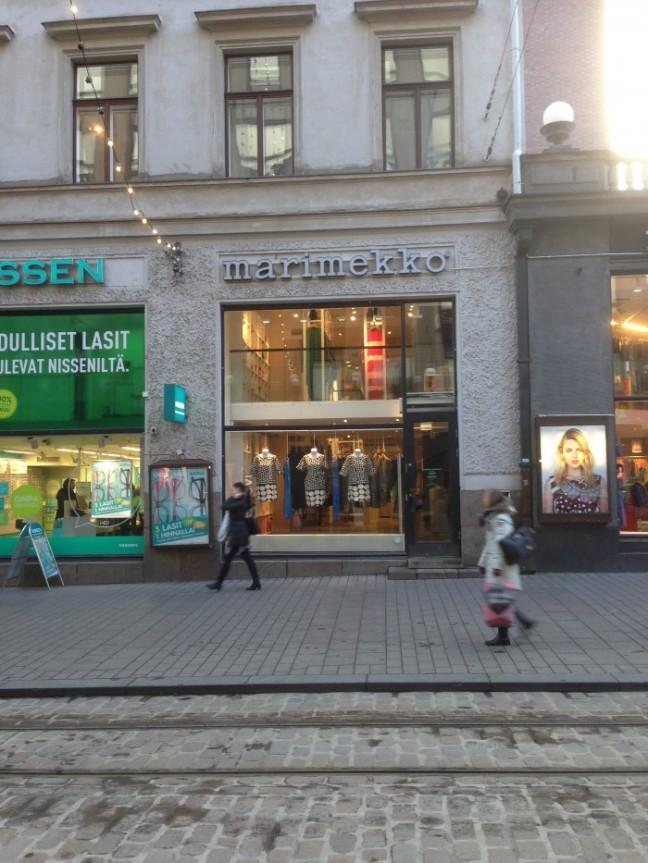 Helsingfors marimekko affär