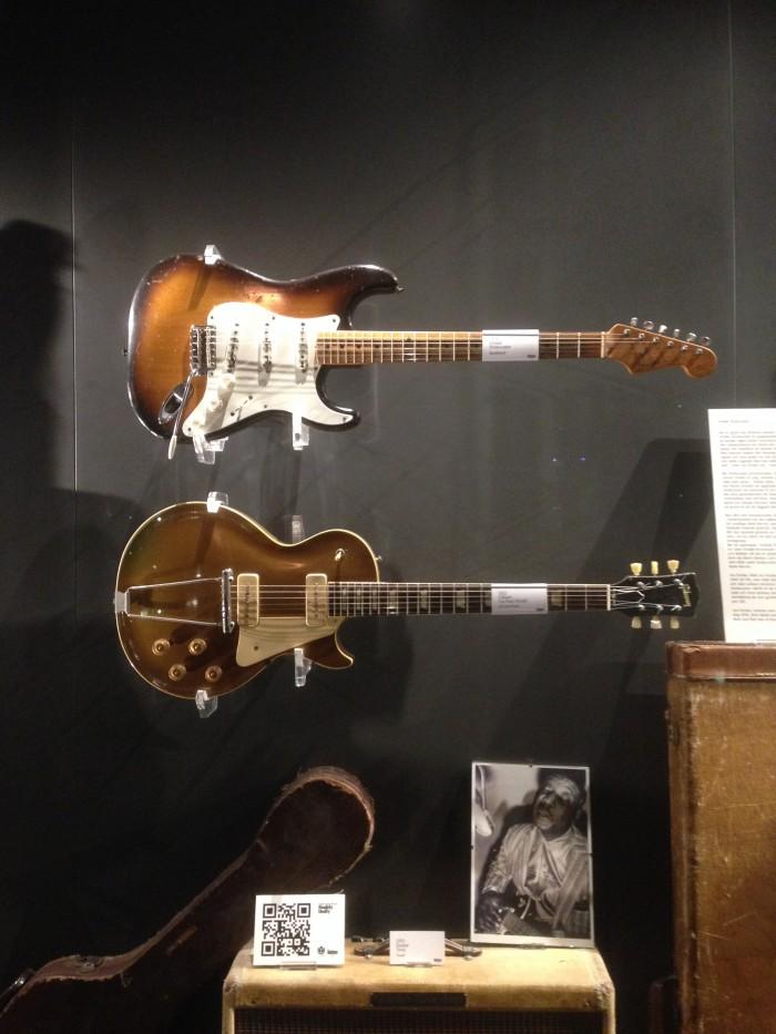 Guitars museum fender stratocaster