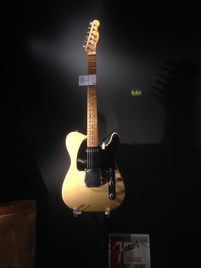 Guitars museum Fender Broadcaster