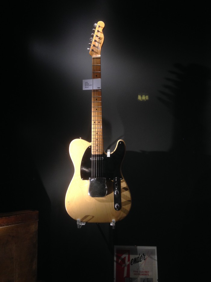Guitars museum Fender Broadcaster