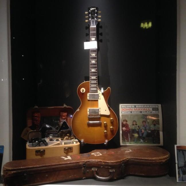 Guitars museum Gibson Les Paul