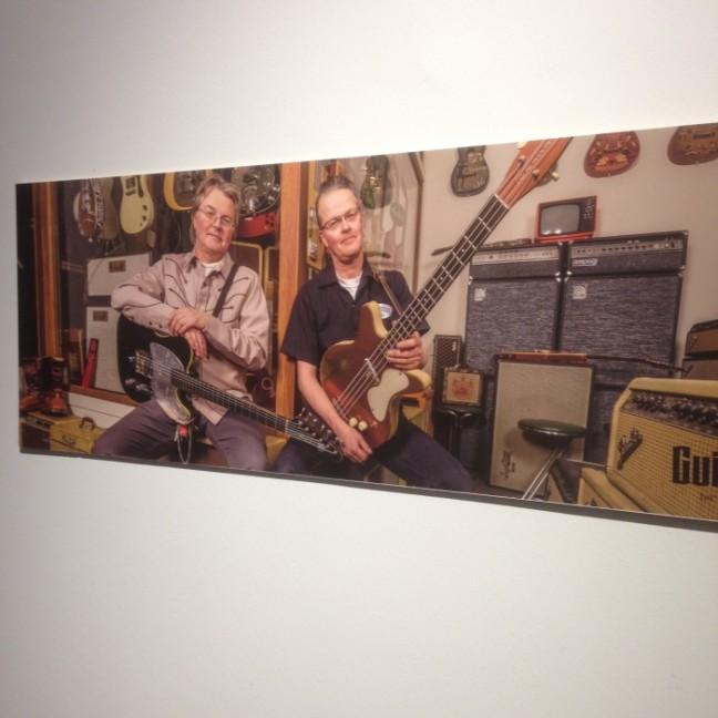 Guitars museum bröderna Åhdén