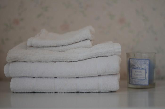 vita vikta handdukar