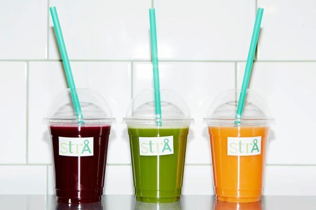 Kallpressade juicer från StrÅ