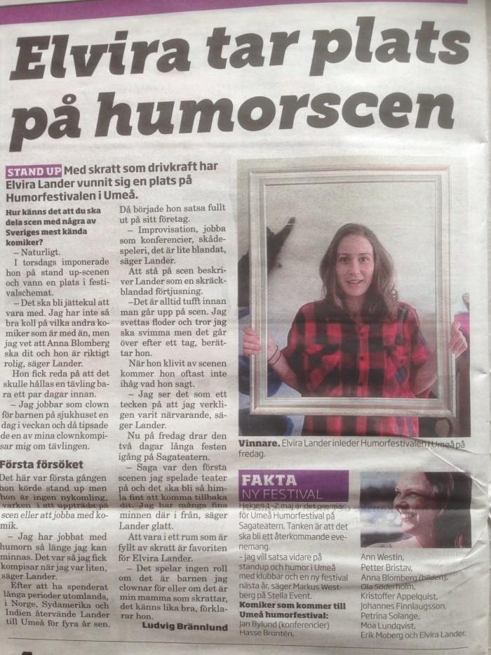 talang Umeå humorgala