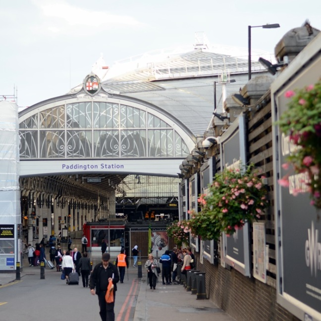 Paddington station London