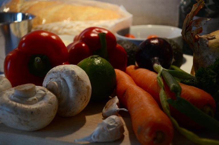 grönsaker chili