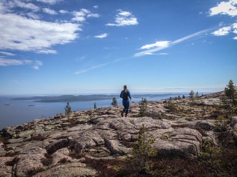 Trailrunning skuleskogen höga kusten (21)