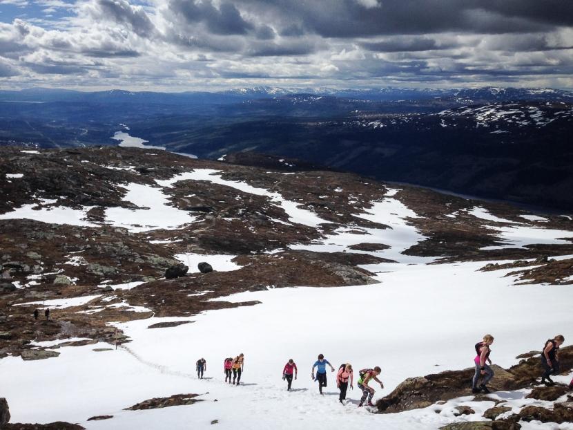 Topptur Åreskutan – löpning/vandring sommar