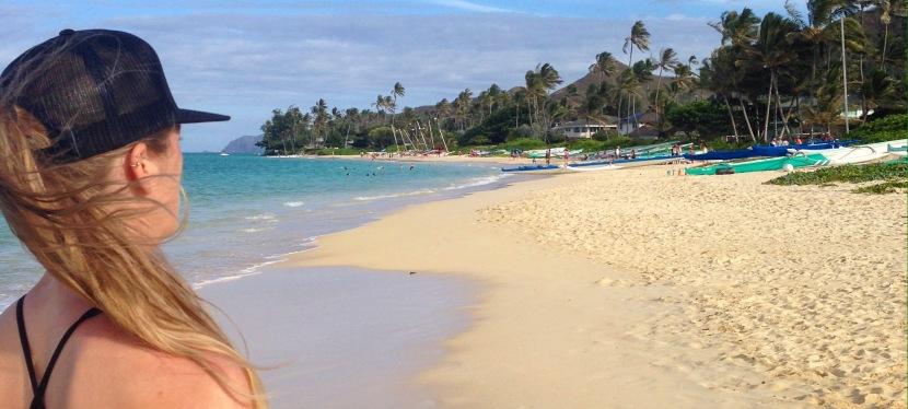 Vykort från Oahu,Hawaii