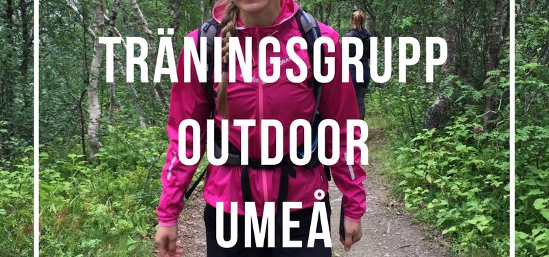 Träningsgrupp outdoor Umeå