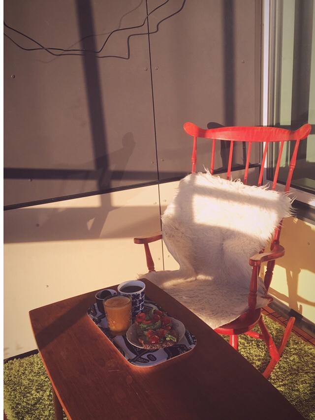 Frukost på balkongen –premiär!