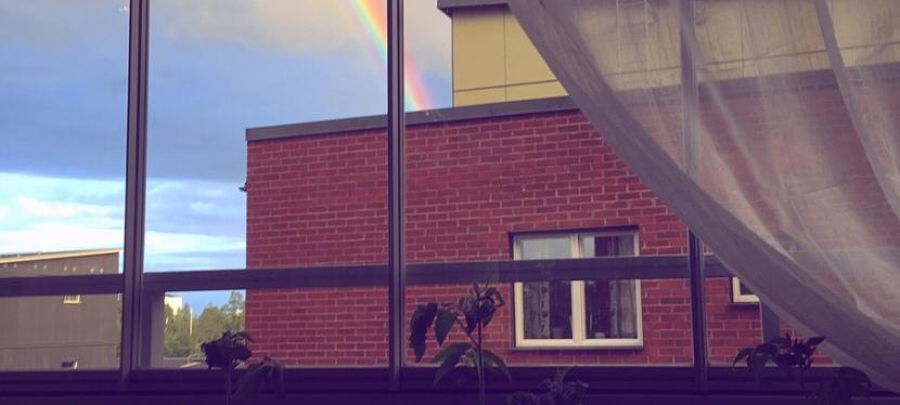 Kvällshäng på balkongen