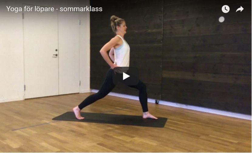 Yoga för löpare –sommarklass!