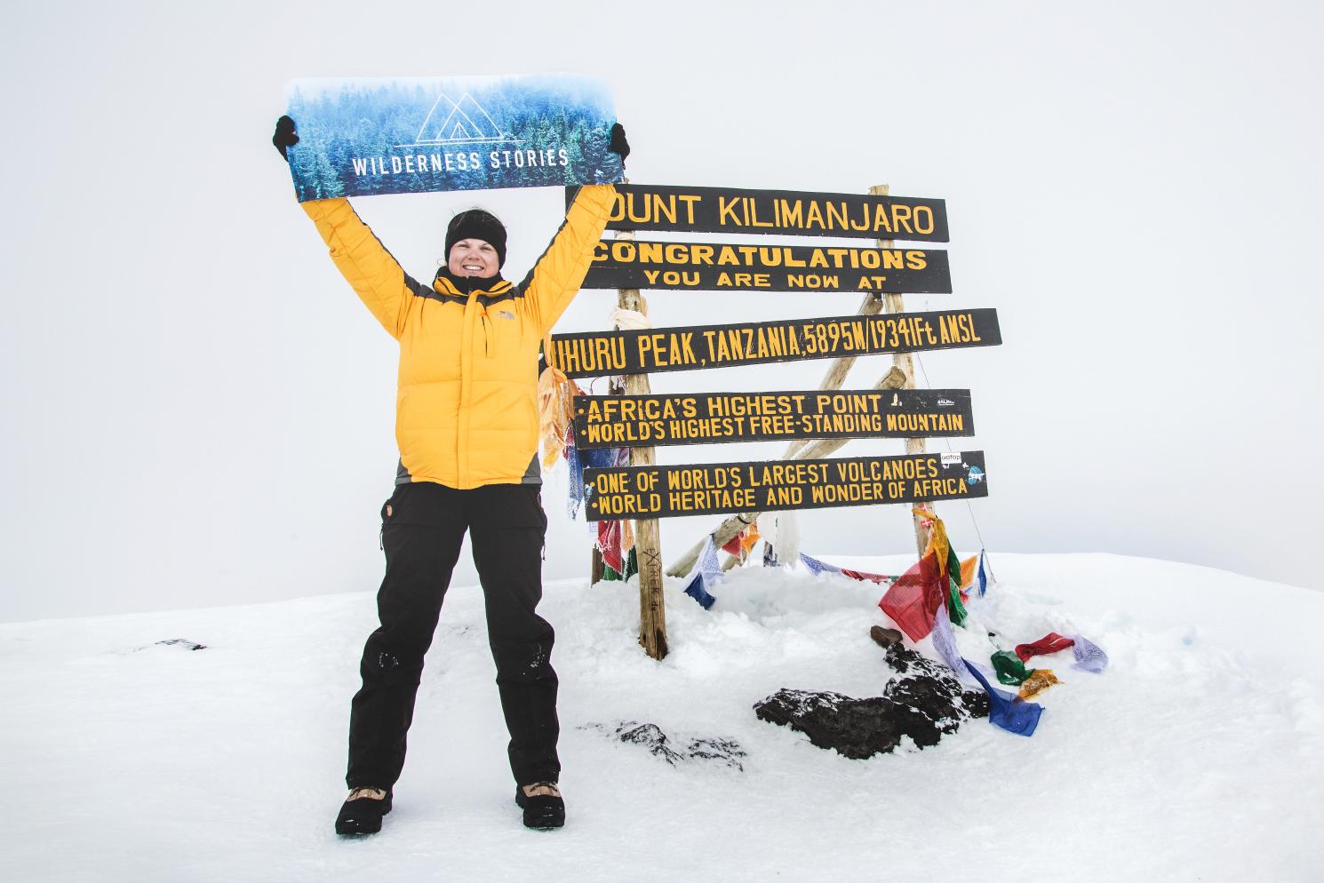 Kilimanjaro – Johanna Westberg
