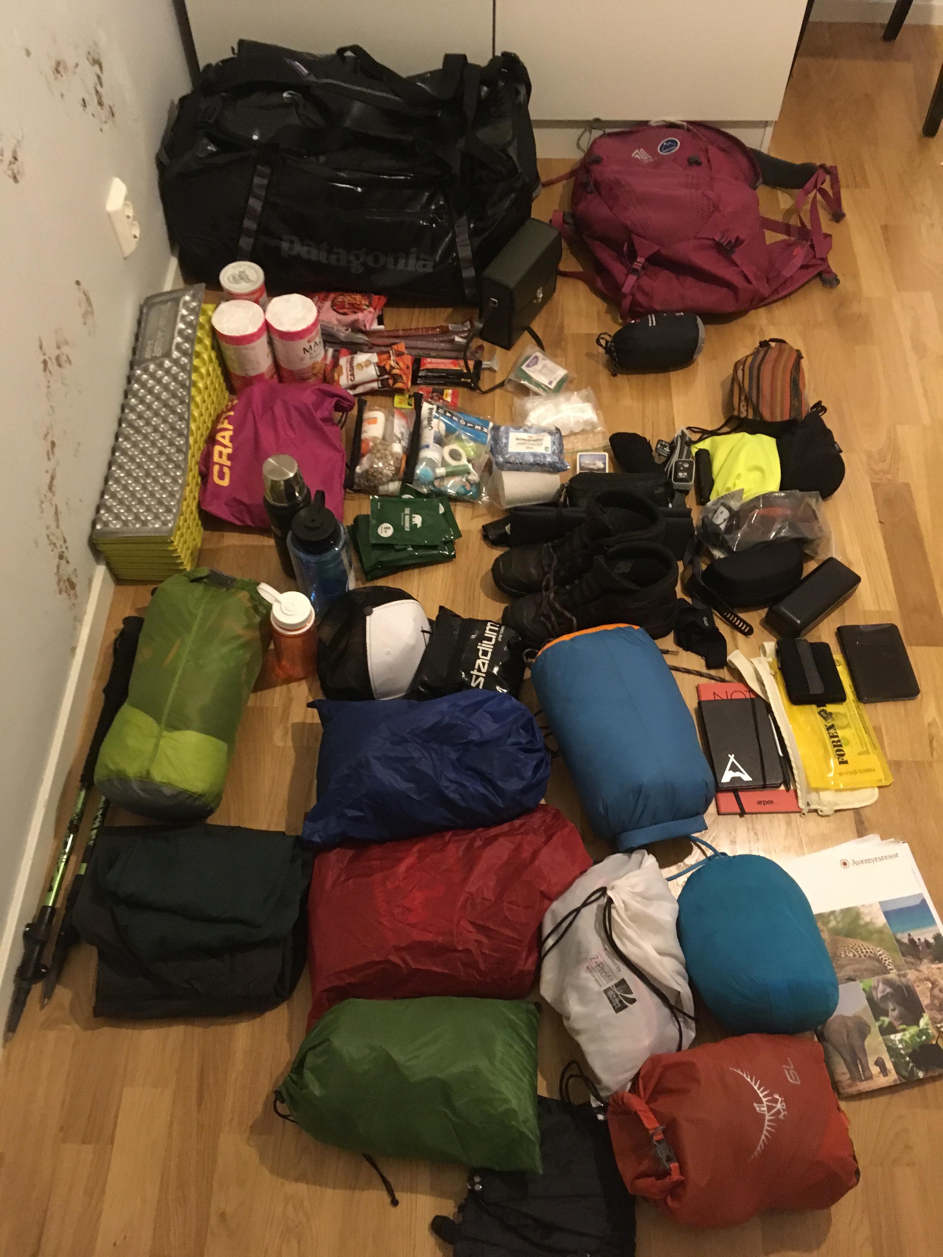 Packlista Kilimanjaro – Safari – Tanzania – Johanna Westberg