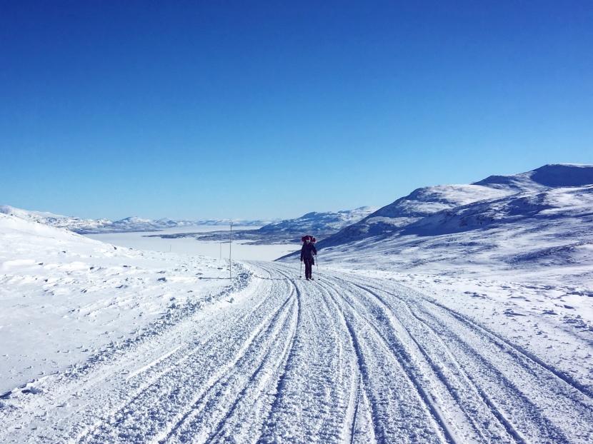 En liten vintertur iBjörkliden